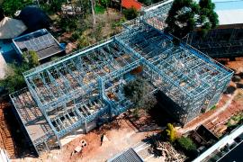 Lar de Idosos Construção em Steel Frame